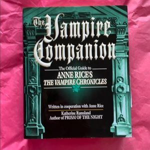 Other - The Vampire Companion-1st Edition 1st Printing